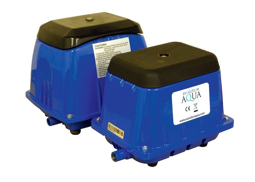 evolution aqua pond air pump