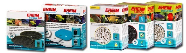 eheim aquarium filter media
