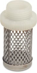 stainless steel filter cage strainer