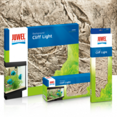juwel aquarium cliff light background