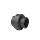 PVC-U Class E Plain Union Coupler 50mm