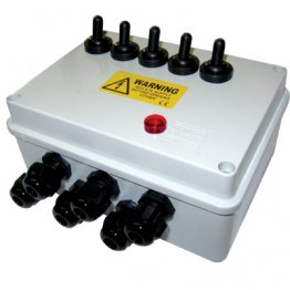 5 Way Junction Box
