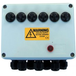 6 Way Junction Box