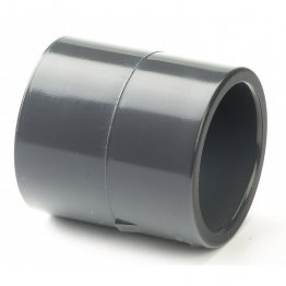 PVC-U Class E Plain Socket 25mm