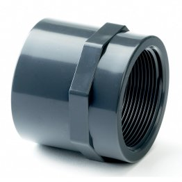 PVC-U Class E Adaptor Socket 25mm