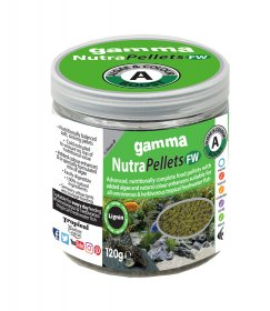 Gamma NutraPellets FW Algae & Colour Boost 120gm
