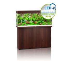 Juwel Rio 240 LED Aquarium Set Dark Wood