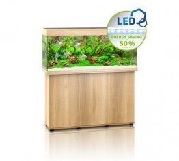 Juwel Rio 240 LED Aquarium Set Light Wood