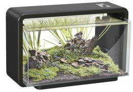 SuperFish Home 25 Aquarium Black