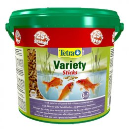 Tetra Pond Variety Sticks 4 Litres + 25% FREE 750gm