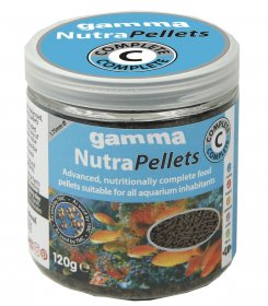 Gamma NutraPellets Complete 120gm