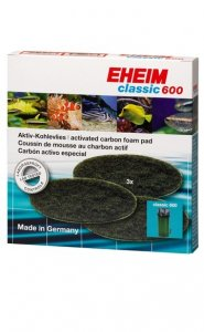 Eheim Classic 600 Carbon Pads 2628170
