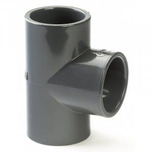 PVC-U Class E Plain Equal Tee 20mm